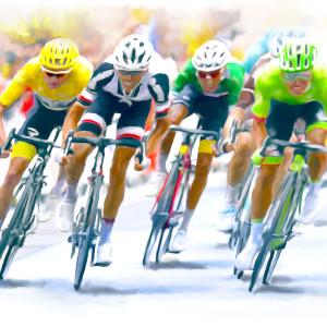 Bike race 40 x 52 sklpn9