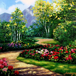 Garden Mountain Path by Kevin D. Miles & Wendy Sue Schaefer Miles