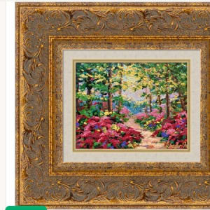 Woodland Jewel Framed Serigraph by Kevin D. Miles & Wendy Sue Schaefer Miles