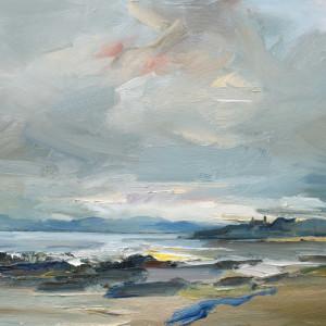A Brisk Wind and an Incoming Tide. Cretshengan Bay. Scotland by David Atkins
