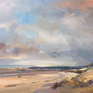 Holkham Bay in the Autumn by David Atkins