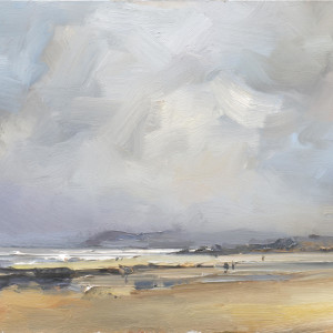 Rain Expected. Constantine Bay. Cornwall