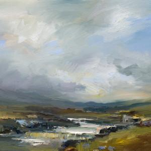Autumn on Rannoch Moor. by David Atkins