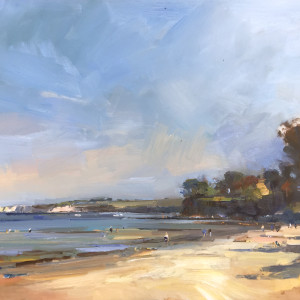 A sunny day in may on studland beach 61x81 hb2jhz