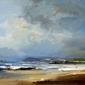 Constantine Bay in the Autumn by David Atkins