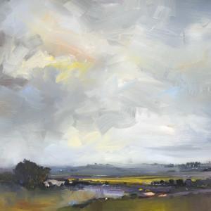 Landscape with a Castle. Dorset