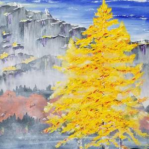 Aspen Cliffs by M Shane