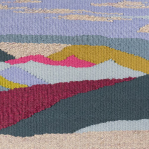 Sand Dunes Blue Tapestry