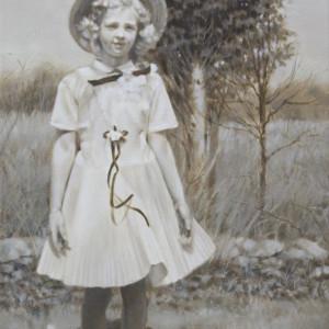 1958 Easter Sunday by Linda Eades Blackburn