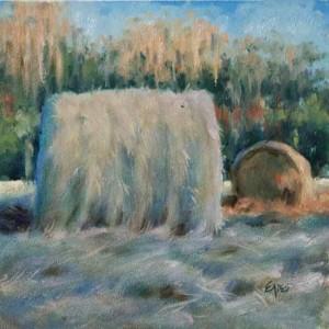 Afternoon Hay by Linda Eades Blackburn