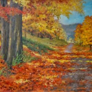 Autumn Drive by Linda Eades Blackburn