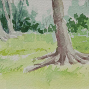 Barefoot in the Spring Grass by Linda Eades Blackburn