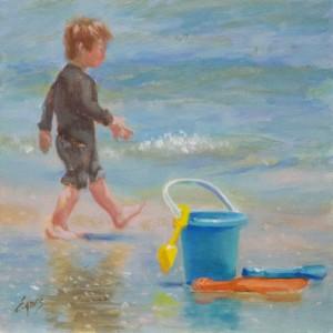 Beach Toys by Linda Eades Blackburn