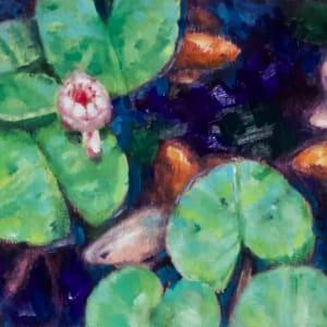 Busy Pond by Linda Eades Blackburn