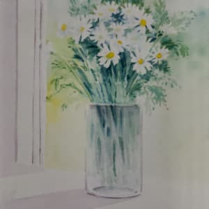 Daisies In the Window by Linda Eades Blackburn