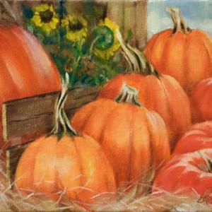 Fall's Harvest by Linda Eades Blackburn