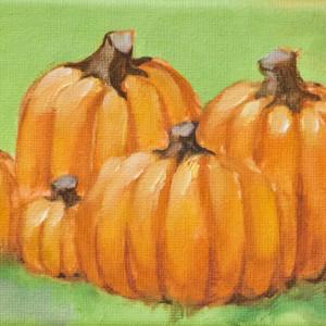 Five little Pumpkins by Linda Eades Blackburn