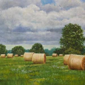 Florida Hay by Linda Eades Blackburn