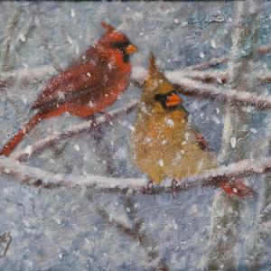 Frigid Pair by Linda Eades Blackburn