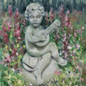 Garden Lute by Linda Eades Blackburn