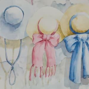 Hanging Hats by Linda Eades Blackburn