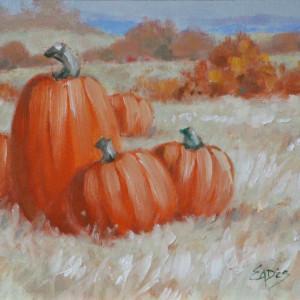 Last of the Pumpkins by Linda Eades Blackburn