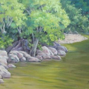 Near the Falls by Linda Eades Blackburn