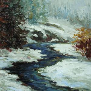 Winter stream 24h x24w i qbmesd