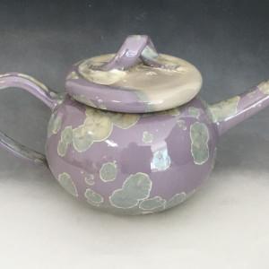 Lavender Tea Pot + 2 cups