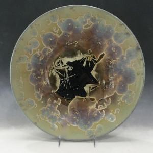 Large Oriental Plate by Nichole Vikdal