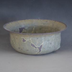 Purple Pearl Crystal Pot by Nichole Vikdal