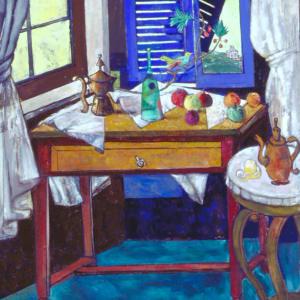 Interior with Bird by John F. Marok