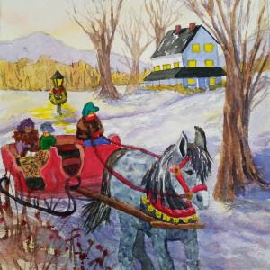 Sleigh Ride by Sharon Allen