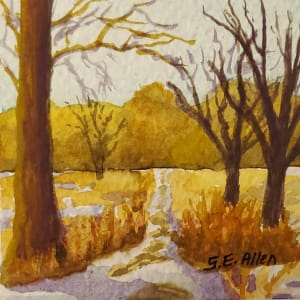 Winter at the Arboretum by Sharon Allen