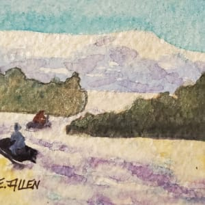 Snowmobiling by Sharon Allen