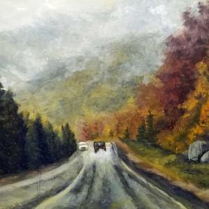 Rain in the Notch by Sharon Allen