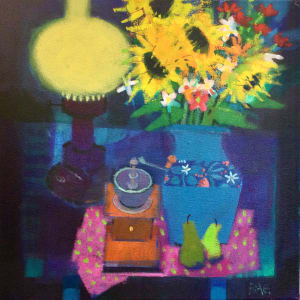 The Blue Lamp by francis boag