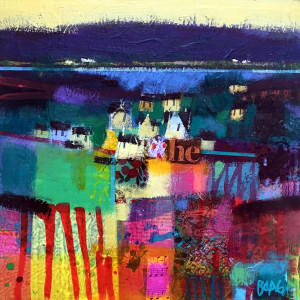 Harris cottages by francis boag