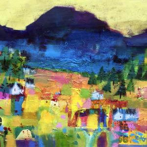 Toward the Cuillins by francis boag