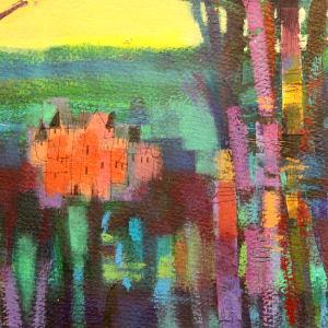 Autumn Castle 2 by francis boag