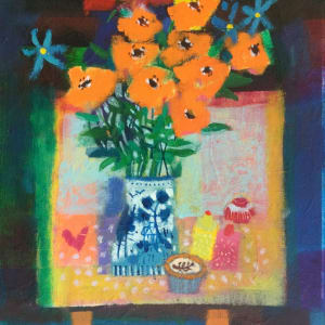 Flowers and fancy cakes by francis boag