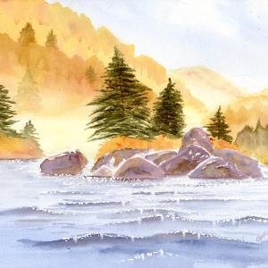 Lake of Diamonds
