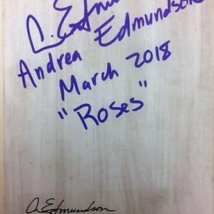 Roses by Andrea L Edmundson