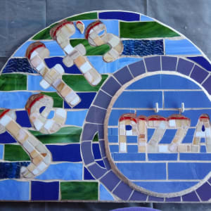 Jeff's Pizza (outdoor sign) by Andrea L Edmundson