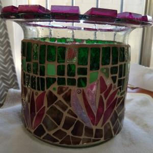Pink Cactus Flowers (planter/vase)