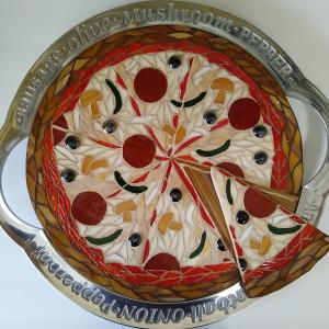 Pizza Party by Andrea L Edmundson
