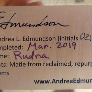 Rudna by Andrea L Edmundson