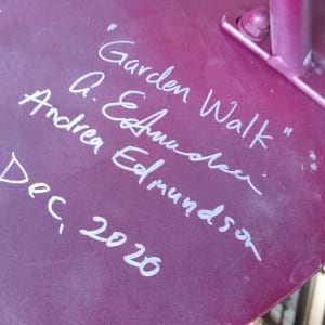 Garden Walk (table) by Andrea L Edmundson