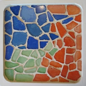 Video One (trivet or tray) by Andrea L Edmundson