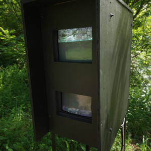 lost river instations/ video trail artpark 2013 by Alan Powell